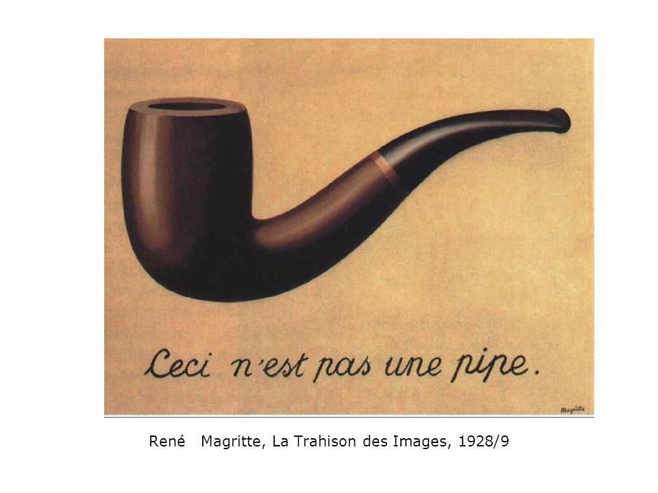 René Magritte, La Trahison des Images, 1928/9