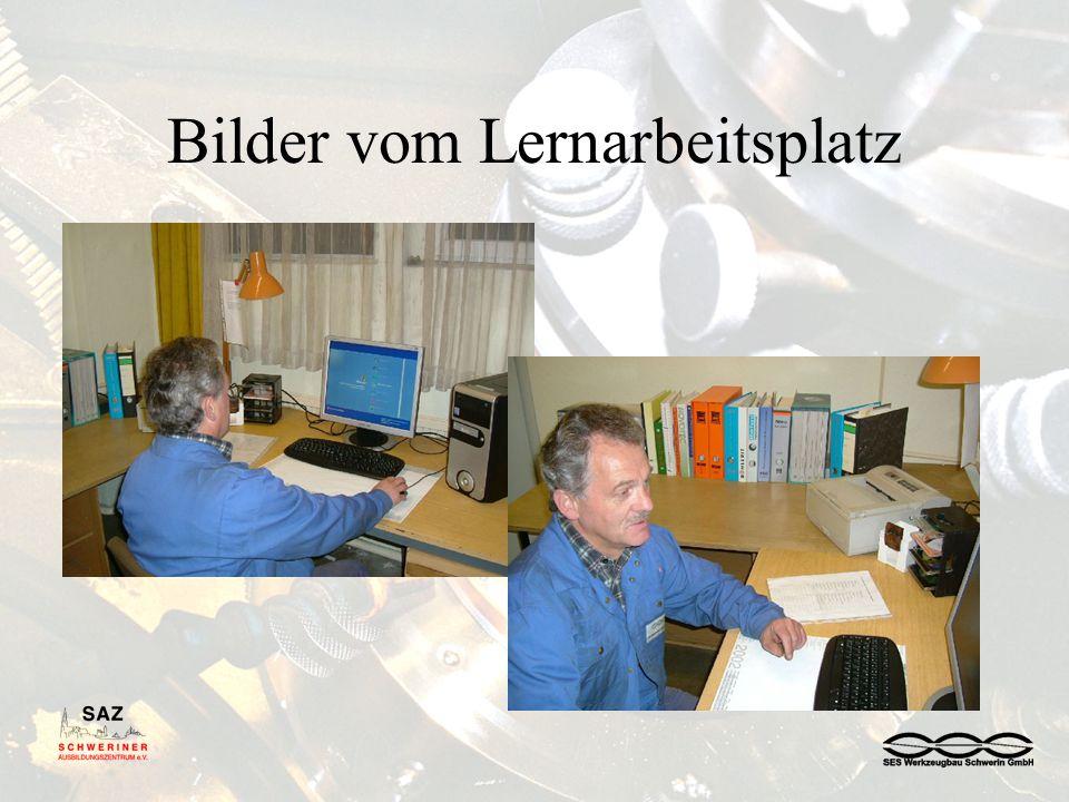 Bilder vom Lernarbeitsplatz