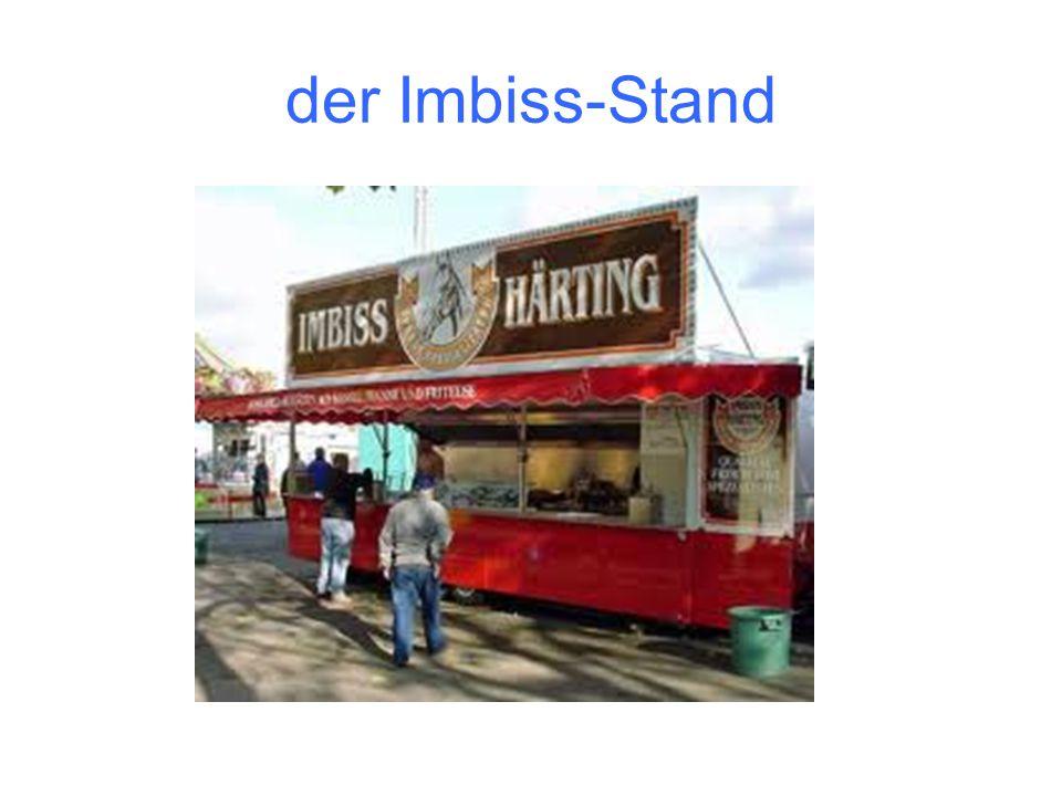 der Imbiss-Stand