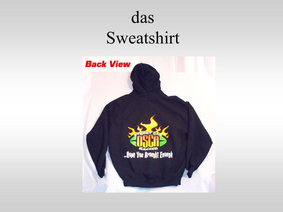 das Sweatshirt