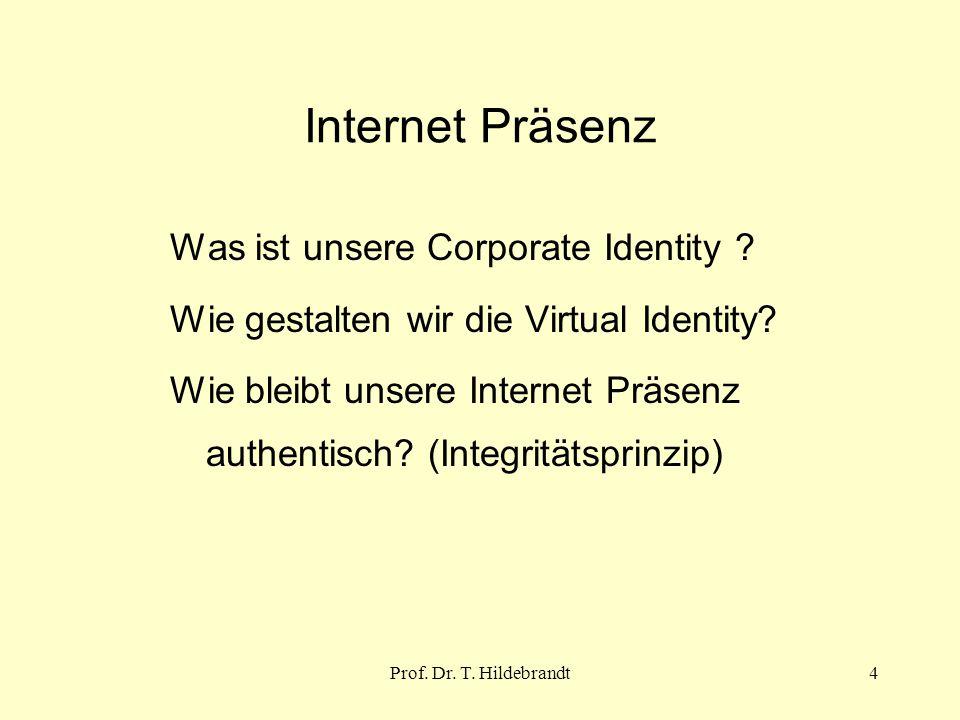 Internet Präsenz Was ist unsere Corporate Identity .