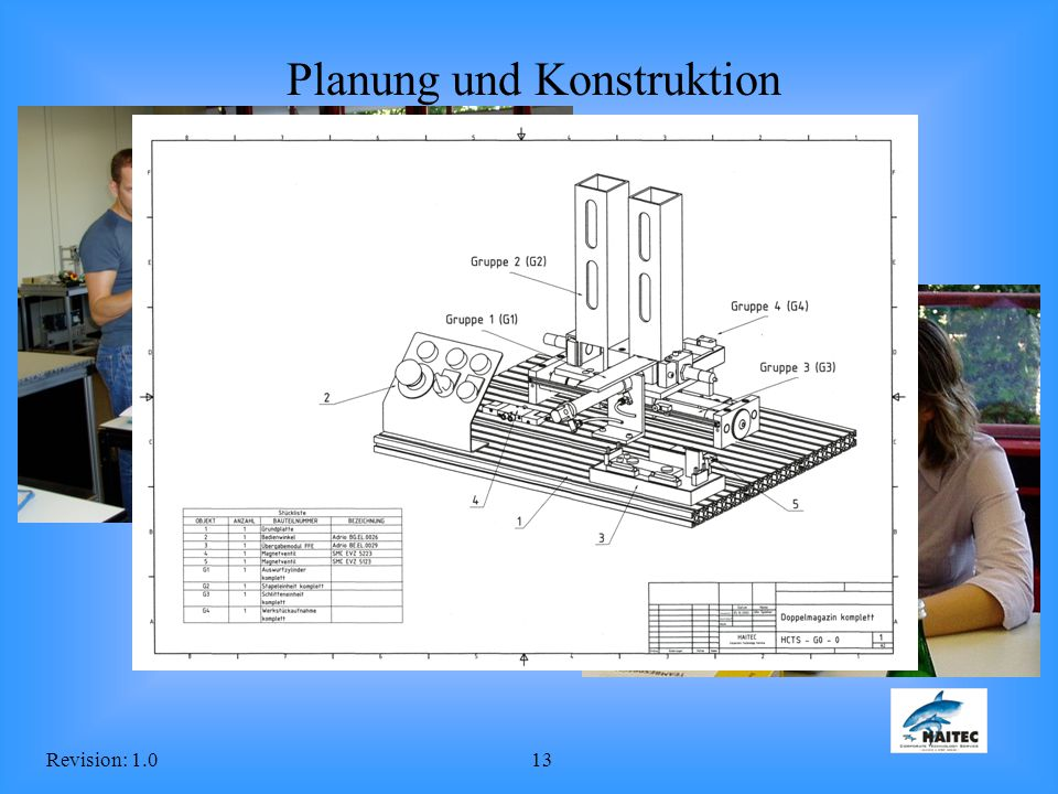 Revision: 1.013 Planung und Konstruktion