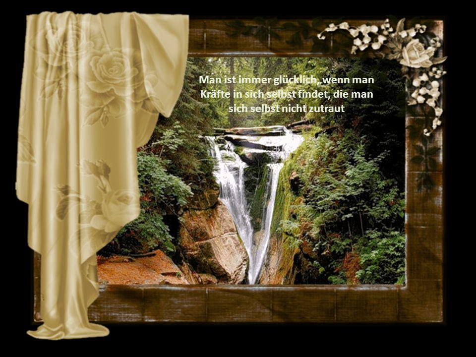 Einen Menschen zu lieben heißt, ihn so zu sehen, wie Gott ihn gemacht hat.