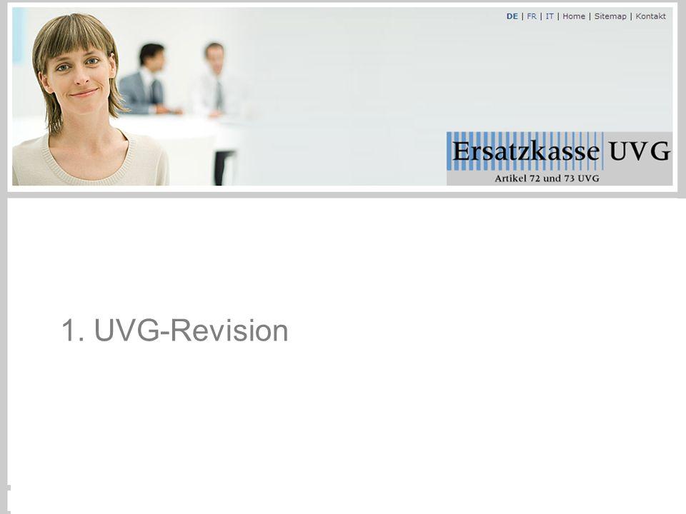 1. UVG-Revision