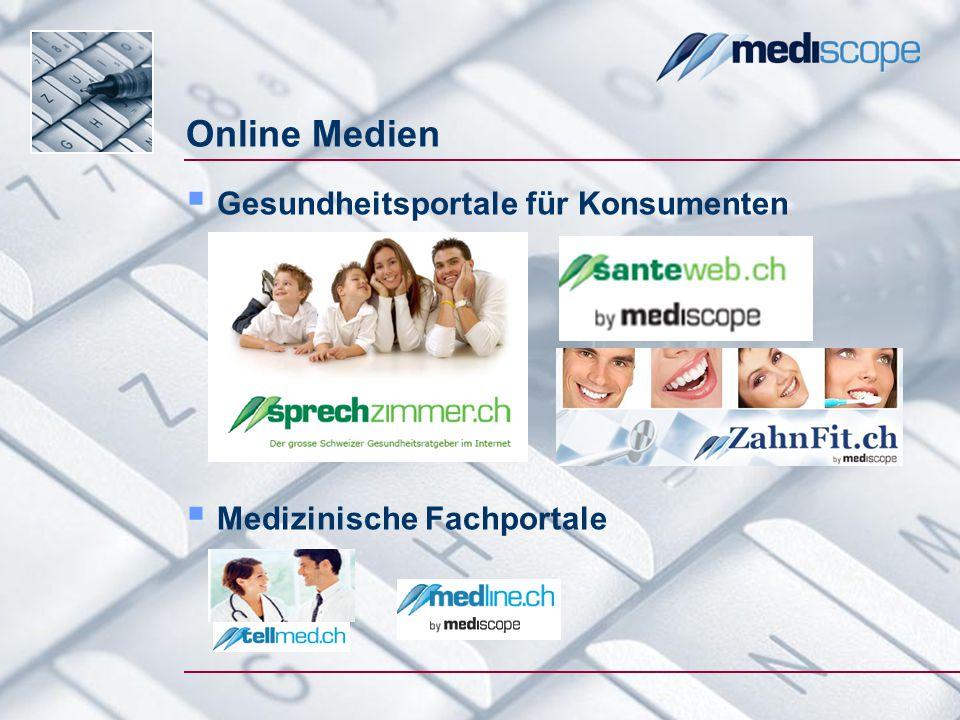 Patienten im Internet / Swisscom Studie