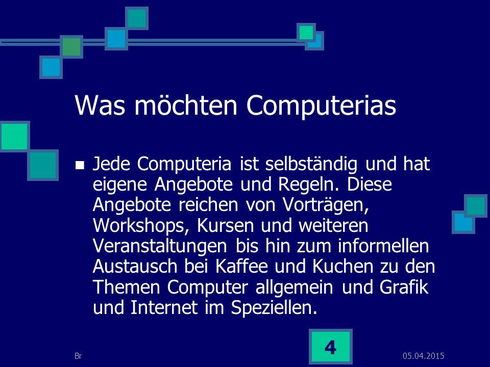 05.04.2015Br 5 Sind Computerias kommerziell .