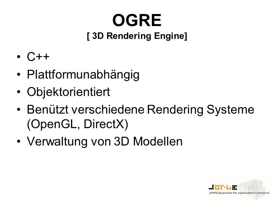 Soll/Ist [Kannziele] LeoCAD Exporter für OGRE Mesh Framework für neue Sensoren Roboter Skins Terrain Generierung