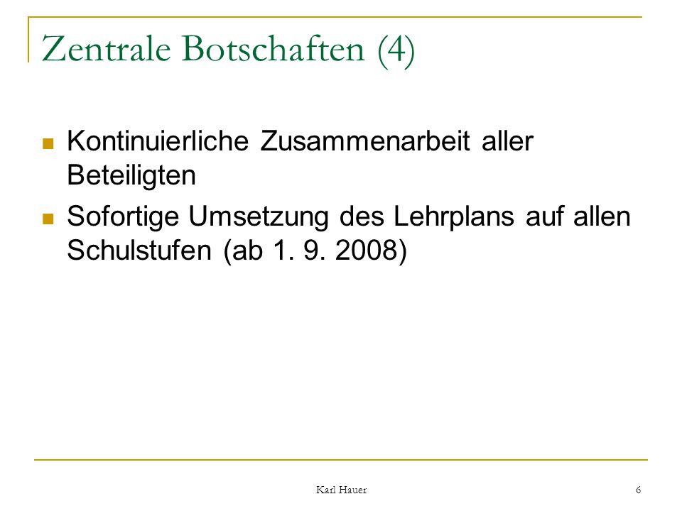 Karl Hauer 7 2.Bsp. Mathematik Präsentation bei der Tagung in St.