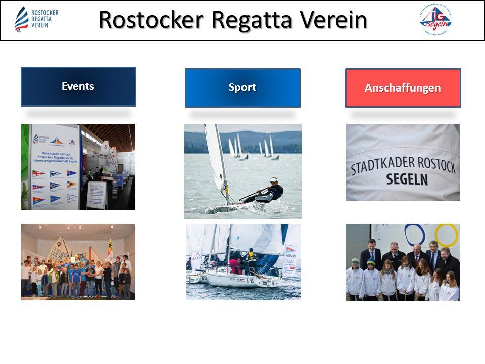 Rostocker Regatta Verein Ankündigung: Ankündigung: seit 19.03. online abrufbar