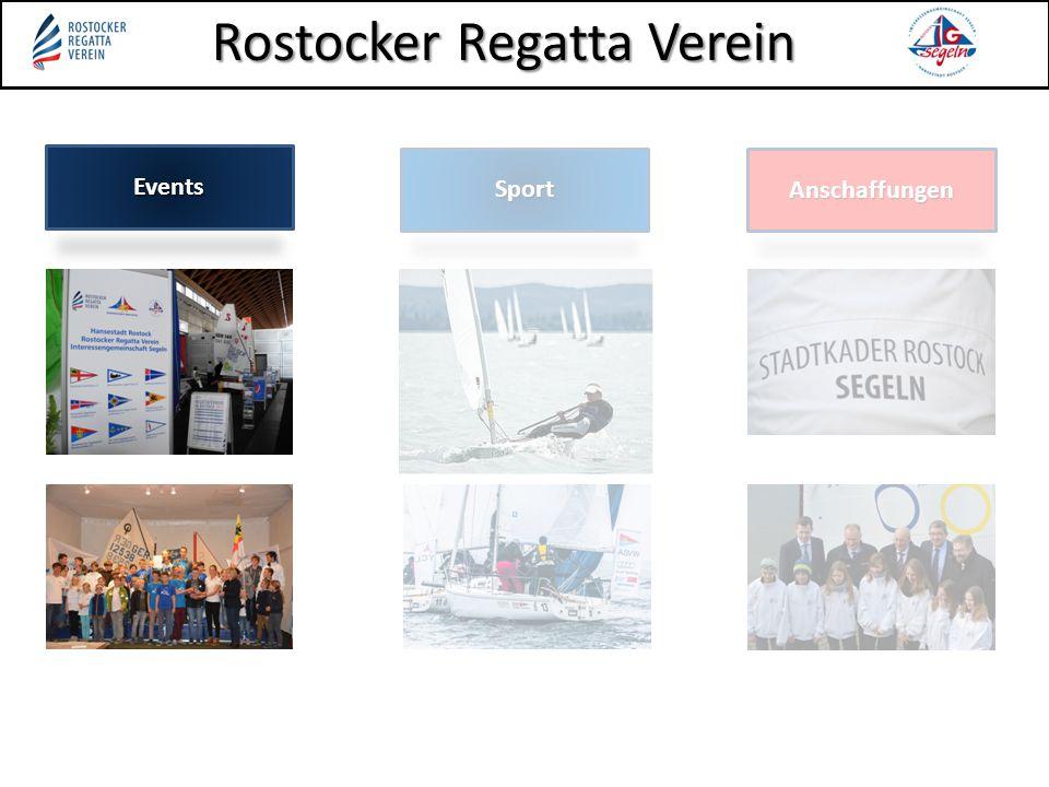 Events Sport Anschaffungen