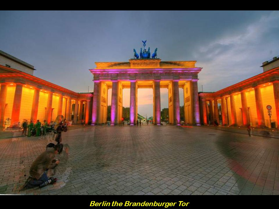 Berlin the Brandenburger Tor