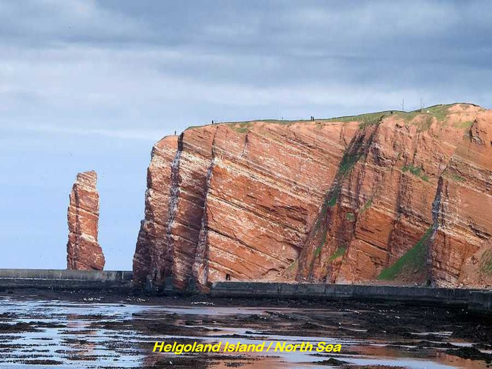 Helgoland Island / North Sea