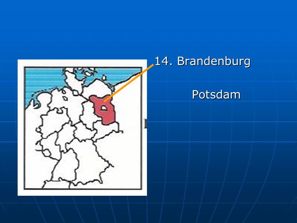 14. Brandenburg Potsdam Potsdam