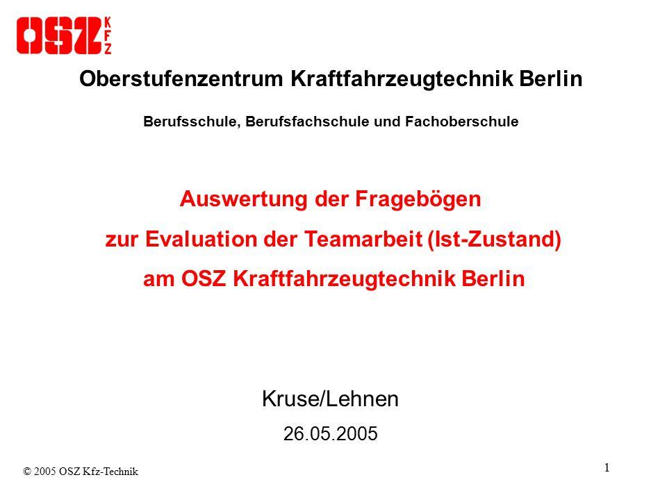 12 C Persönliche Entwicklung © 2005 OSZ Kfz-Technik