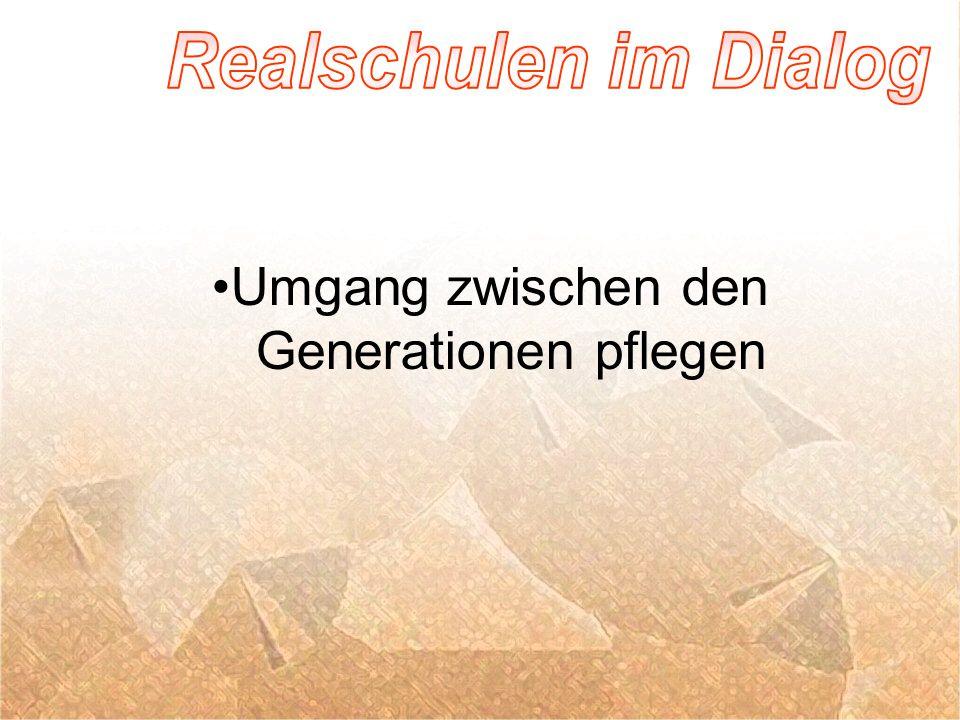 Umgang zwischen den Generationen pflegen
