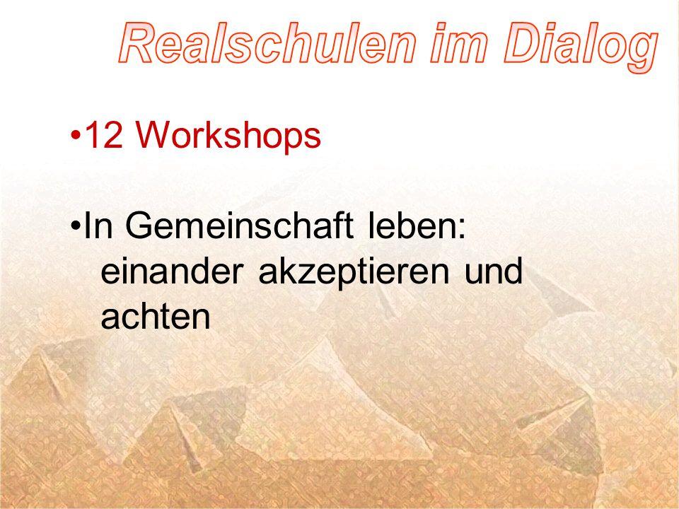 12 Workshops In Gemeinschaft leben: einander akzeptieren und achten