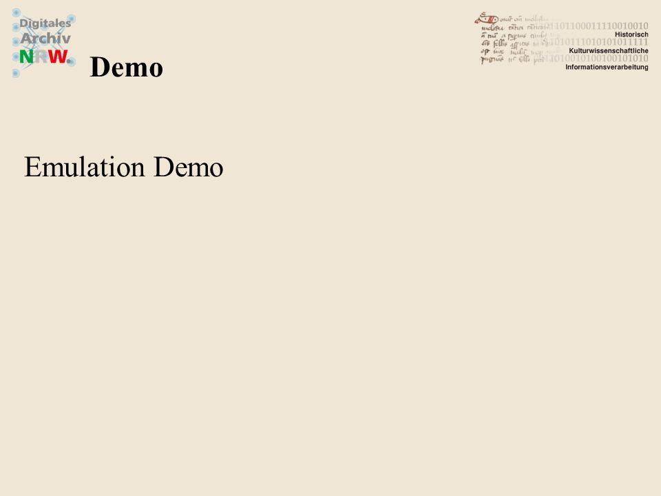 Emulation Demo Demo