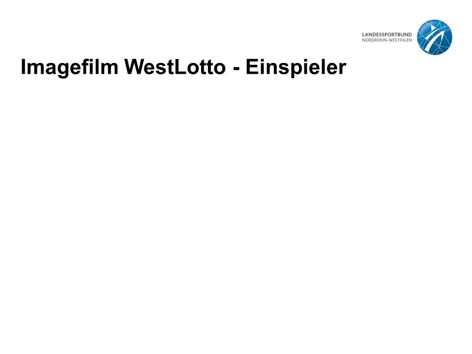 Imagefilm WestLotto - Einspieler
