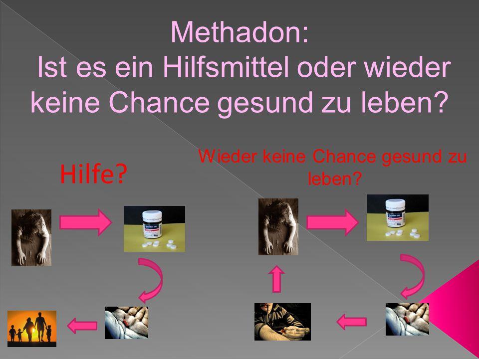Plan: 1.Definition von Methadon 2.Das internationale Methadon- Programm 3.