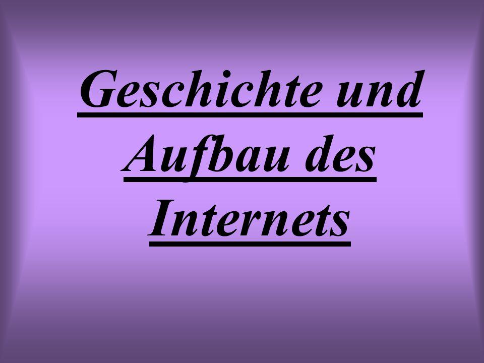 Geschichte und Aufbau des Internets