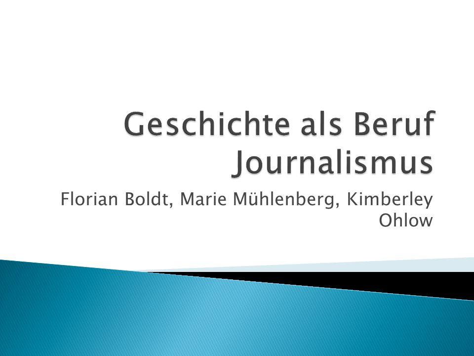 Florian Boldt, Marie Mühlenberg, Kimberley Ohlow