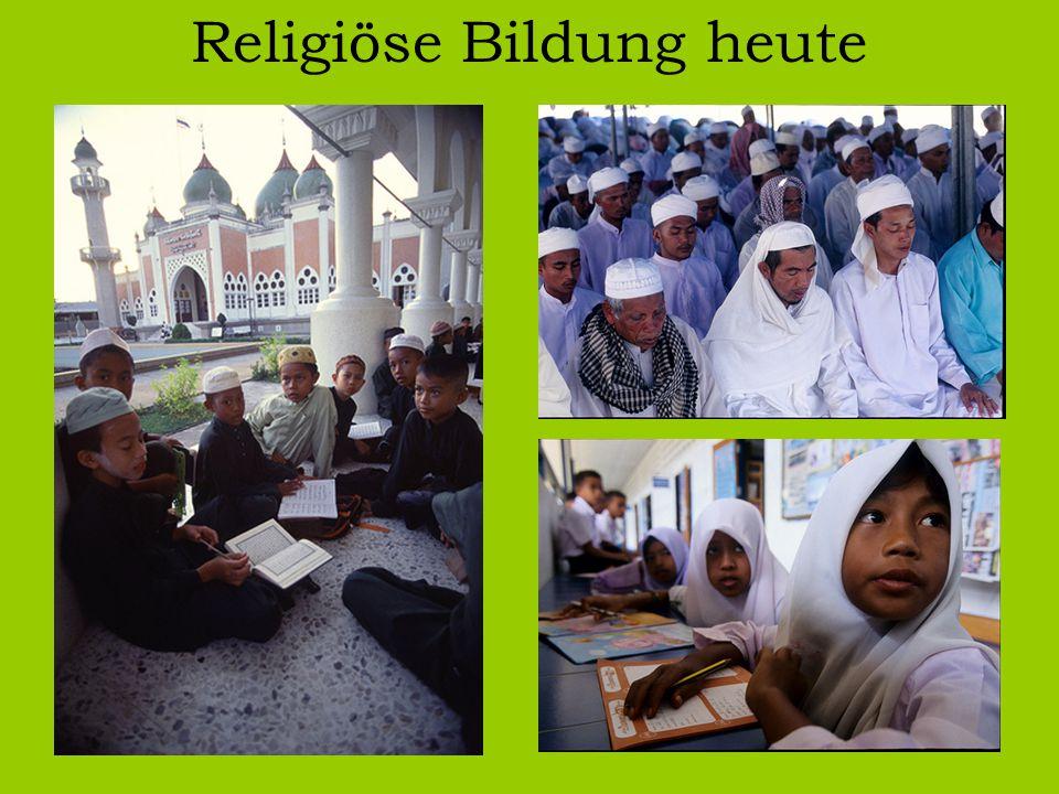 Religiöse Bildung heute