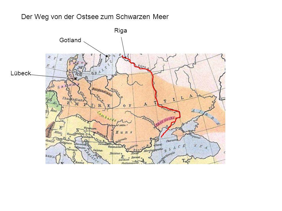 Lübeck Riga Gotland Der Weg von der Ostsee zum Schwarzen Meer