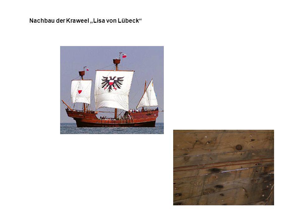 """Nachbau der Kraweel """"Lisa von Lübeck"""