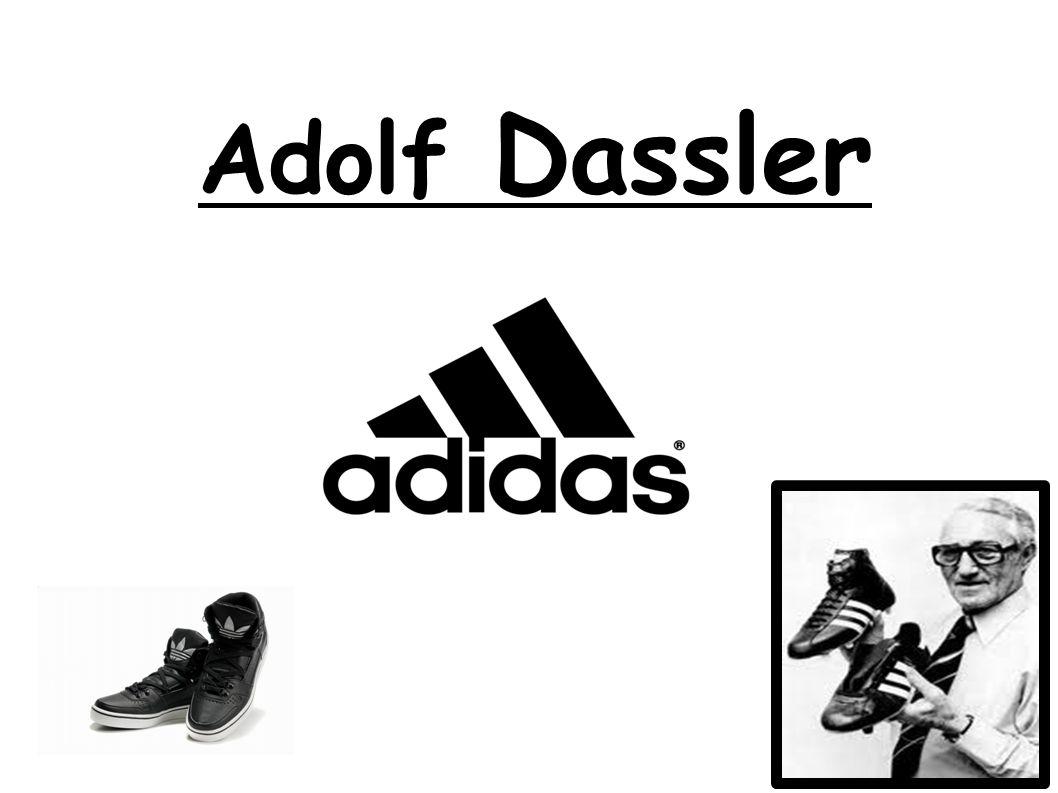 Sein Name ist Adolf Dassler.Er ist am 3. November 1900 geboren und er ist am 6.