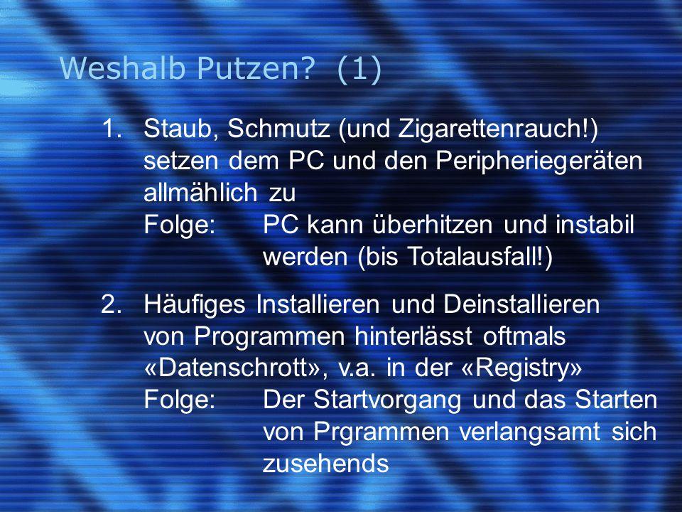 Weshalb Putzen. (1) 1.