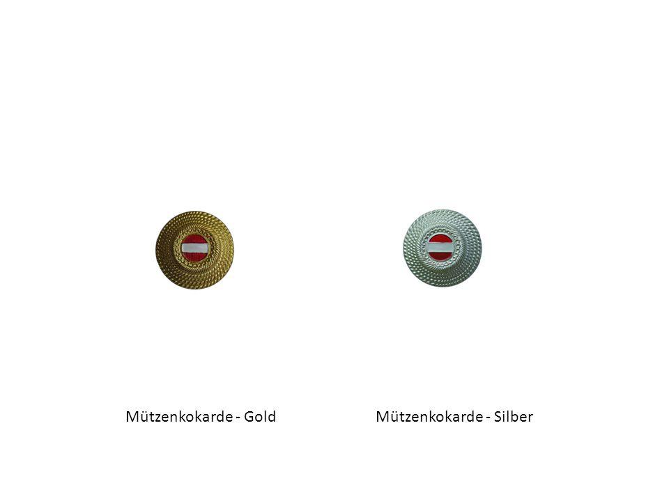 Mützenkokarde - GoldMützenkokarde - Silber