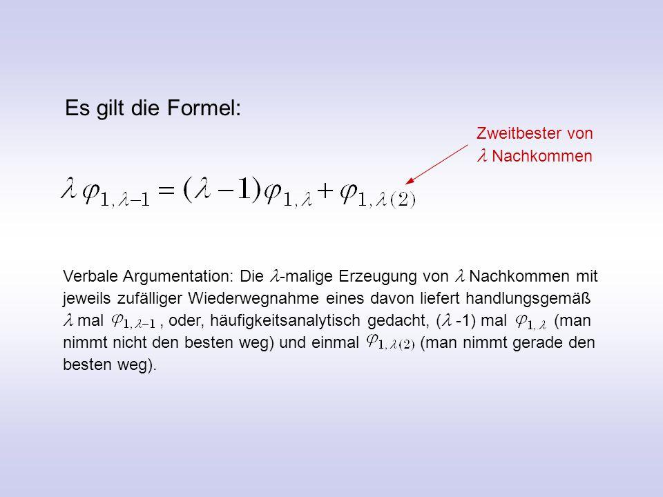 Goldene Regel zur Mutationsschrittweitenregelung Für Funktionsmaximierung