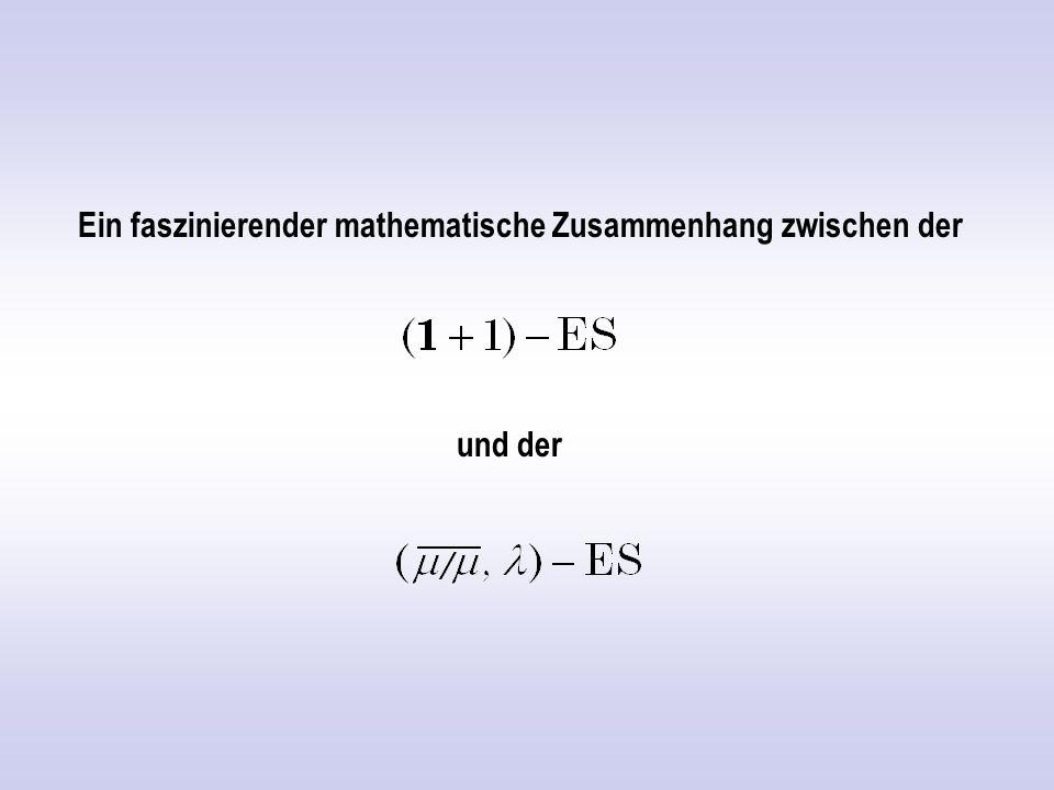 NP vollständig NP P Schwach kausal Kausal Stark kausal Informatiker/Mathematiker Evolutionsstratege Komplexitätsklassen von Problemen P = polynomial NP = nichtdeterministisch polynomial.