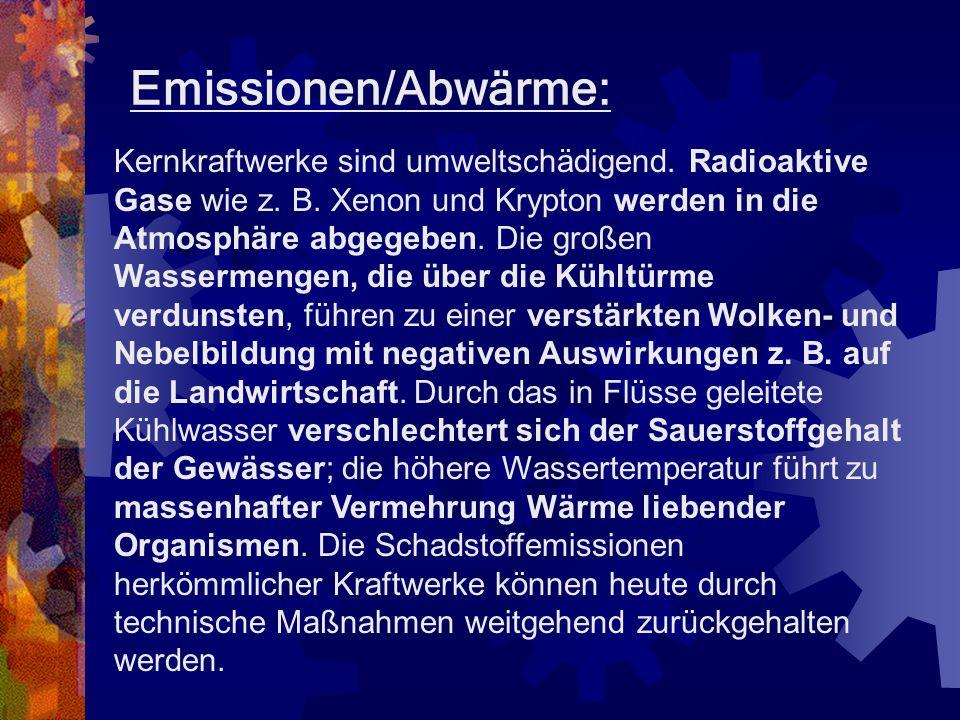 Endlagerung des Atommülls Atommüll muss so gelagert werden, dass keine radioaktiven Substanzen in die Umwelt gelangen und die von ihm ausgehende radio