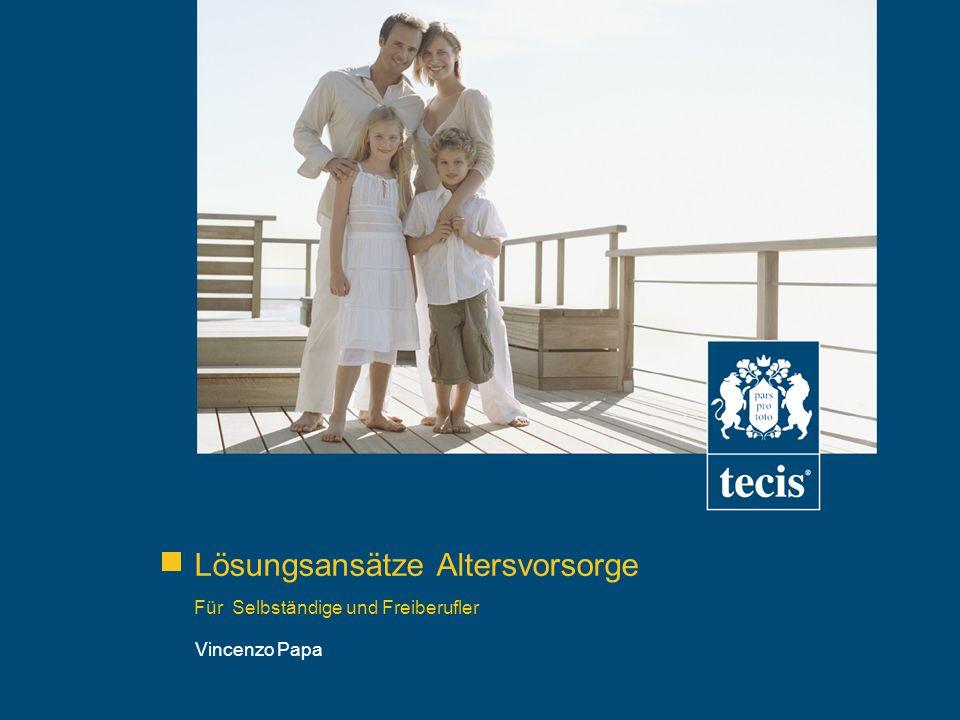 Lösungsansätze Altersvorsorge Für Selbständige und Freiberufler Vincenzo Papa
