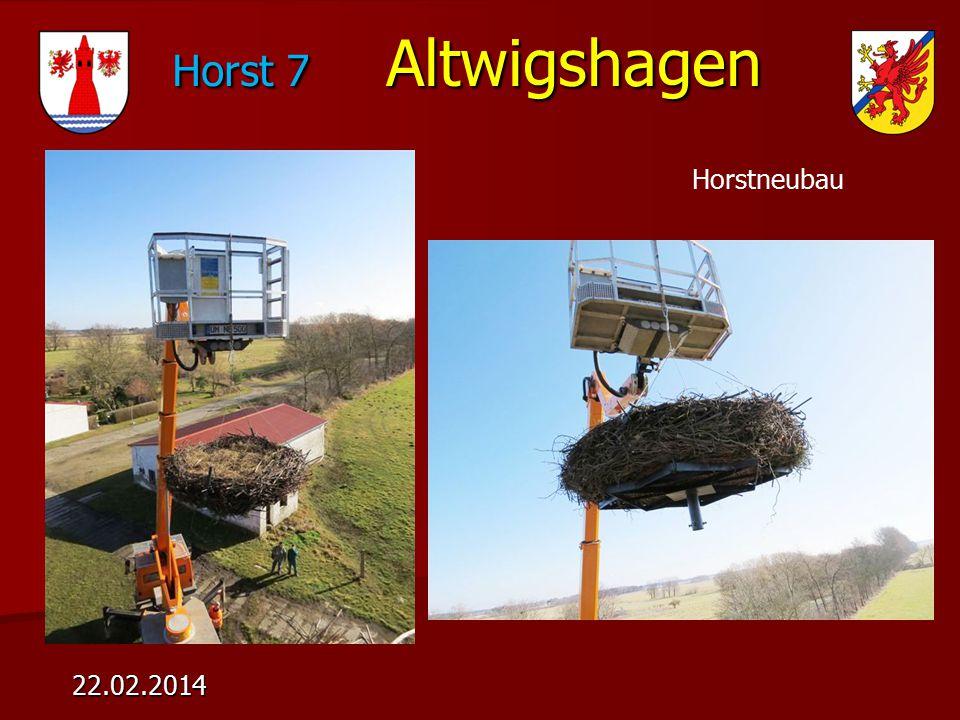 Horst 7 Altwigshagen Horst 7 Altwigshagen 22.02.2014 Horstneubau