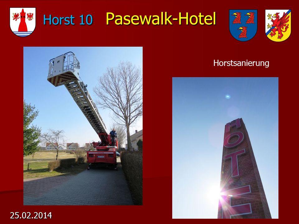 Horst 10 Pasewalk-Hotel 25.02.2014 Horstsanierung