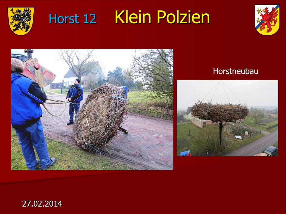 Horst 12 Klein Polzien 27.02.2014 Horstneubau