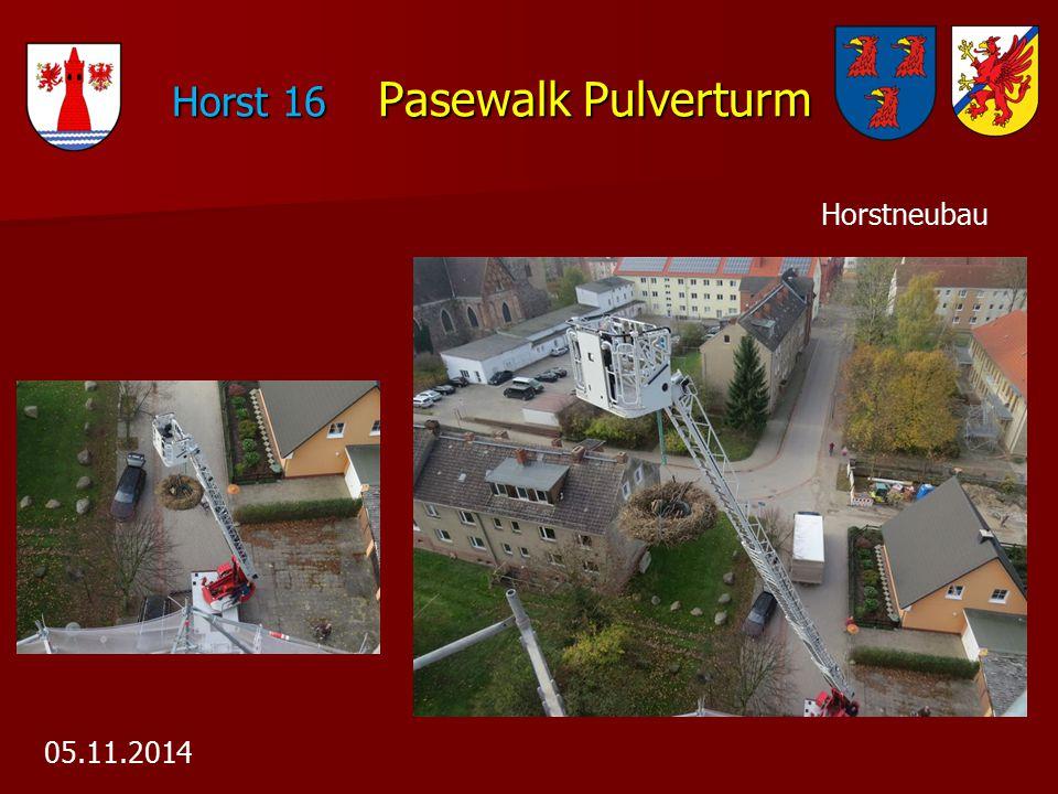 Horst 16 Pasewalk Pulverturm Horst 16 Pasewalk Pulverturm 05.11.2014 Horstneubau