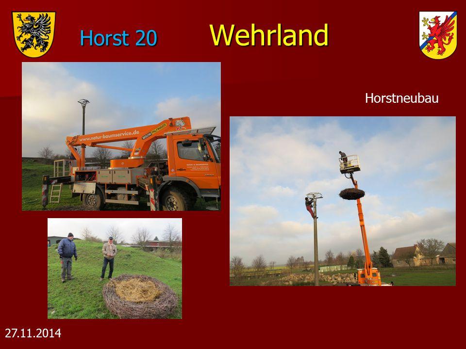 Horst 20 Wehrland Horstneubau 27.11.2014