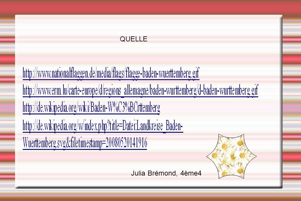 QUELLE Julia Brémond, 4ème4