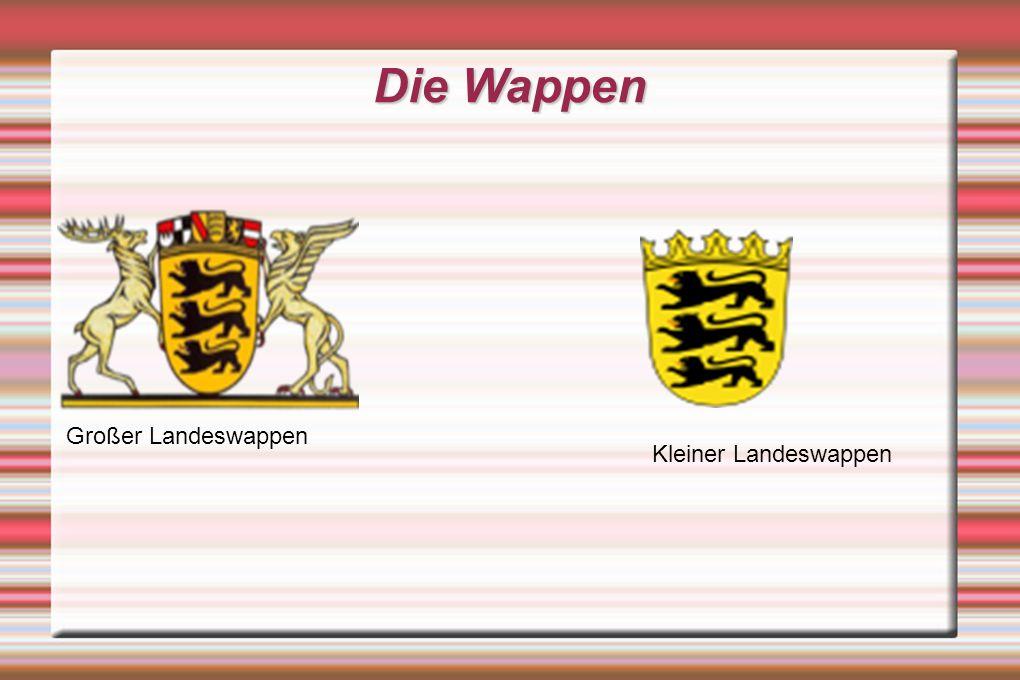 Die Wappen Großer Landeswappen Kleiner Landeswappen