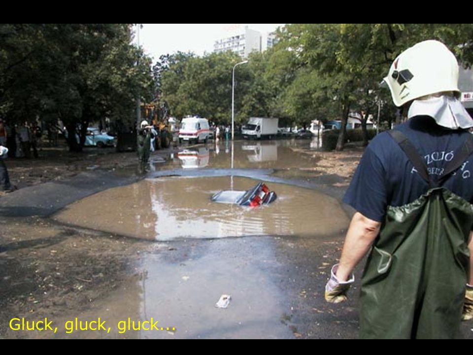 Gluck, gluck, gluck...