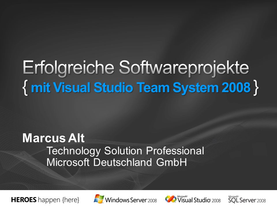 Vielen Dank! Marcus Alt marcus.alt@microsoft.com http://blogs.msdn.com/marcalt
