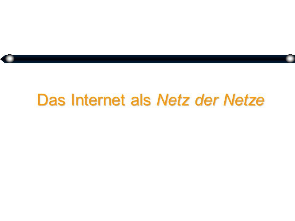 3 Das Internet als Netz der Netze