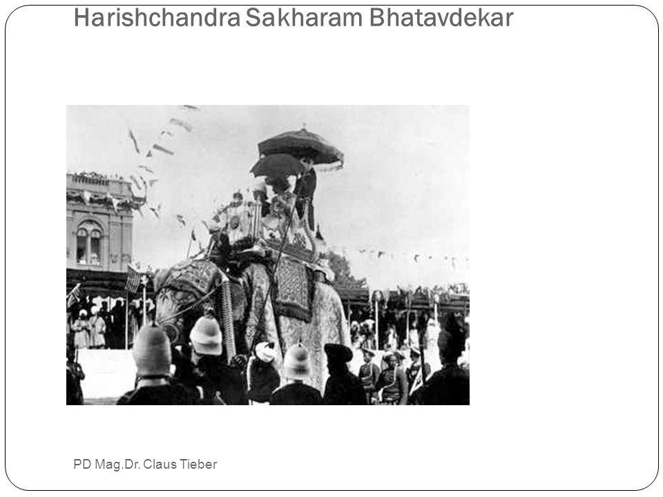 Harishchandra Sakharam Bhatavdekar PD Mag.Dr. Claus Tieber