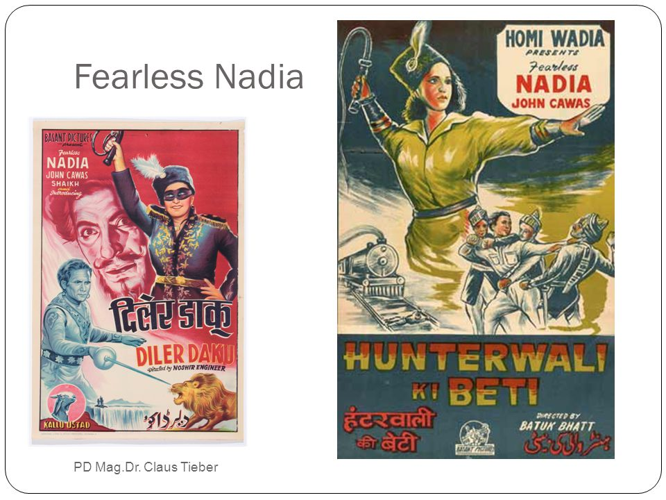 Fearless Nadia PD Mag.Dr. Claus Tieber