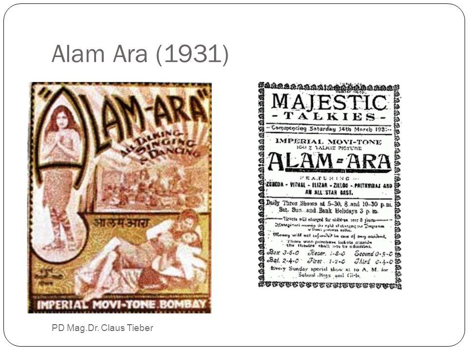 Alam Ara (1931) PD Mag.Dr. Claus Tieber