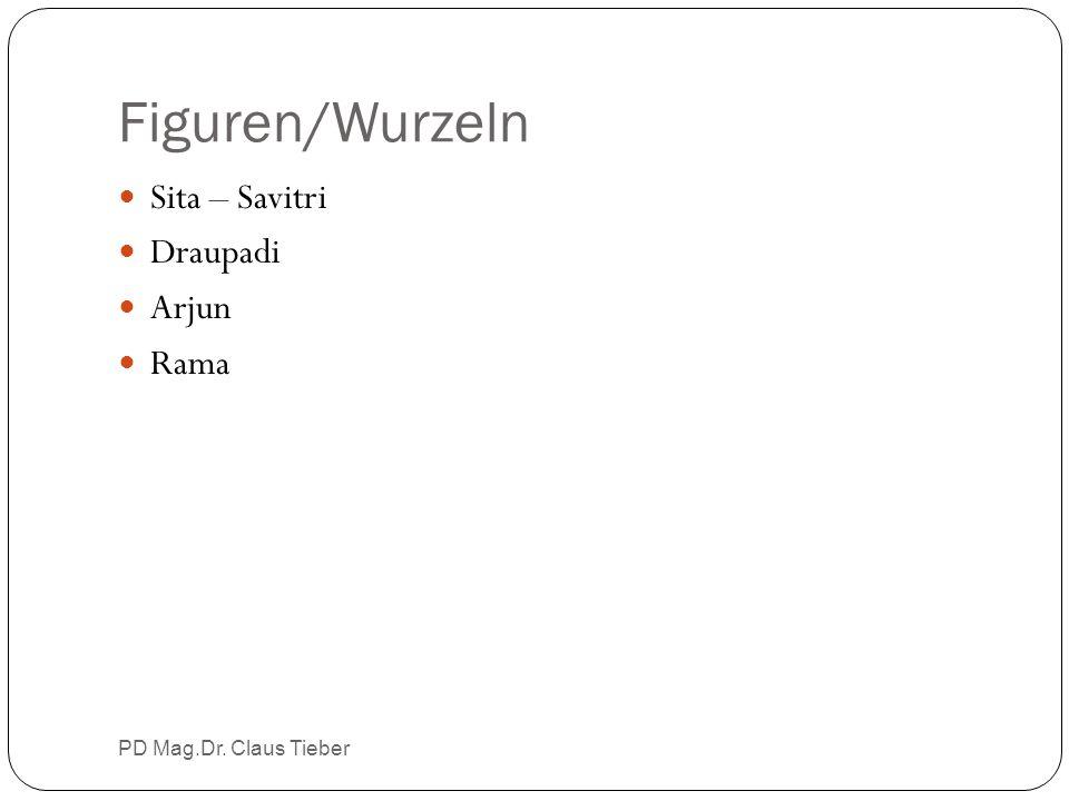 Figuren/Wurzeln PD Mag.Dr. Claus Tieber Sita – Savitri Draupadi Arjun Rama