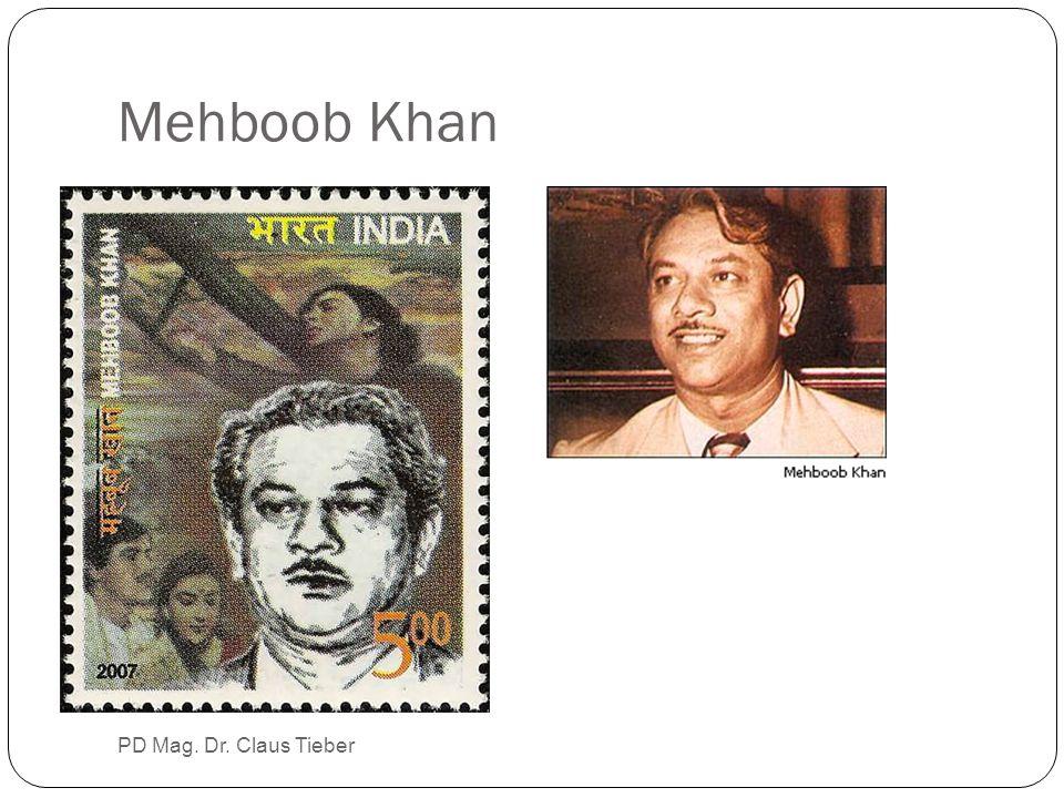 Mehboob Khan PD Mag. Dr. Claus Tieber